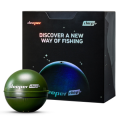 Deeper CHIRP+ Smart Sonar with GPS & Wi-Fi for Pro Anglers
