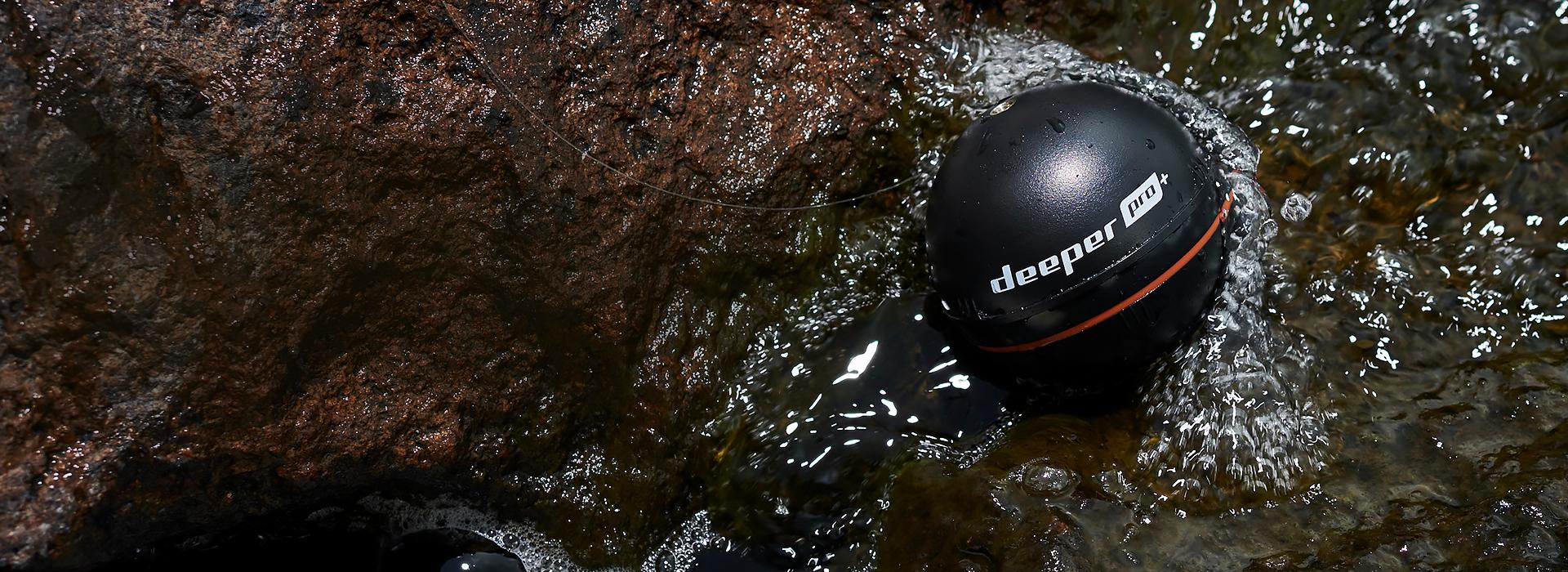 Připravte se na novou rybářskou vlnu!Pořiďte si sonar Deeper za cenu od 4989,00 Kč.