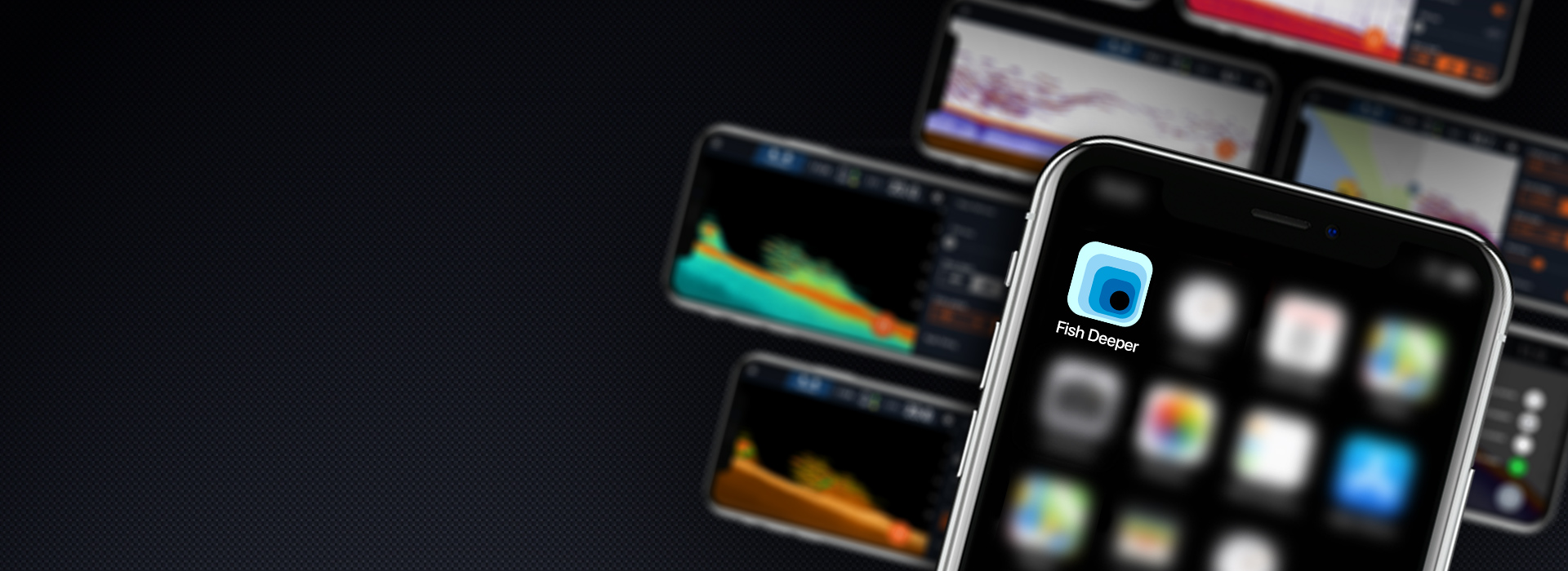 Fish Deeper™로 낚시 경험 향상하나의 앱. 다양한 낚시 가능성.