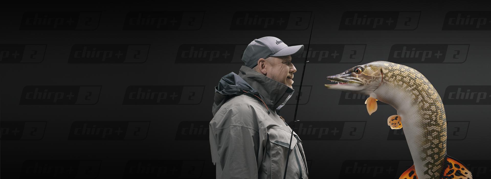 Kan du ikke vente med å treffe fisken? Få det til å skje med nye Deeper CHIRP + 2!