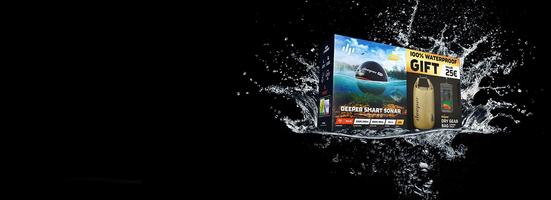 【期間限定】Deeper Pro+&オリジナルドライバッグ&防水スマートフォンケースセット期間限定スペシャルセット