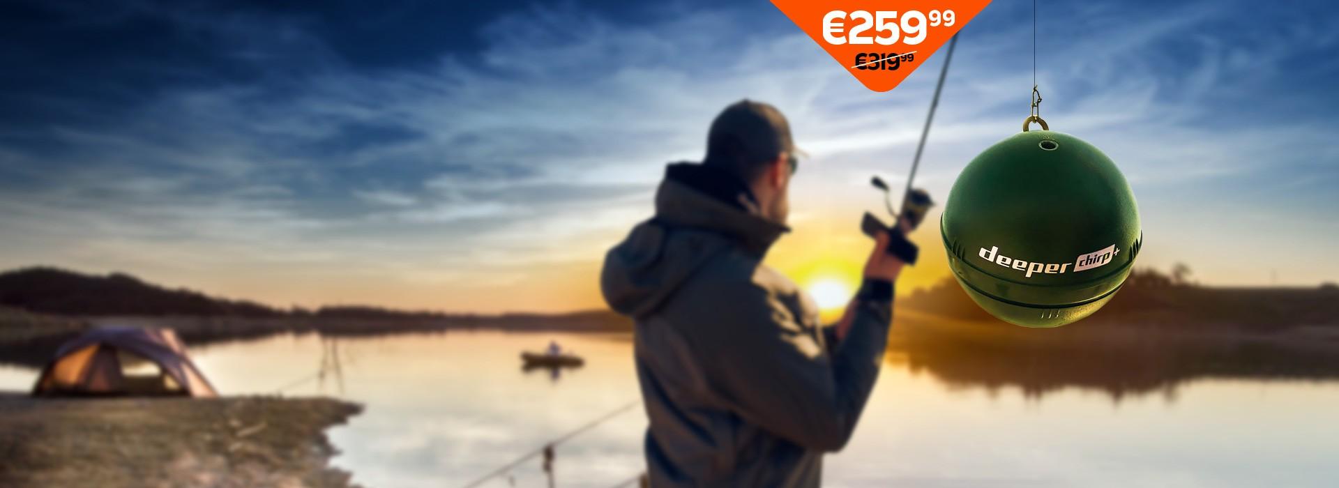 Speciali kaina galioja ribotą laiką!Dabar Deeper CHIRP+ galite įsigyti vos už  €259,99!