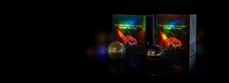 Le Deeper CHIRP+ et le PRO+ déjà emballés et prêts pour l'occasionDes offres incroyables avec des remises de 50€ et 40€!