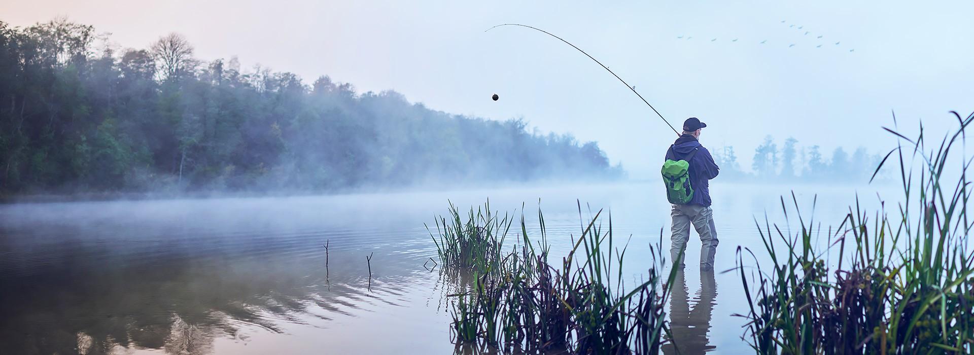 Bereiten Sie sich auf die bevorstehende Angelsaison vorFangen Sie schon ab 189,99 € klüger an zu fischen!