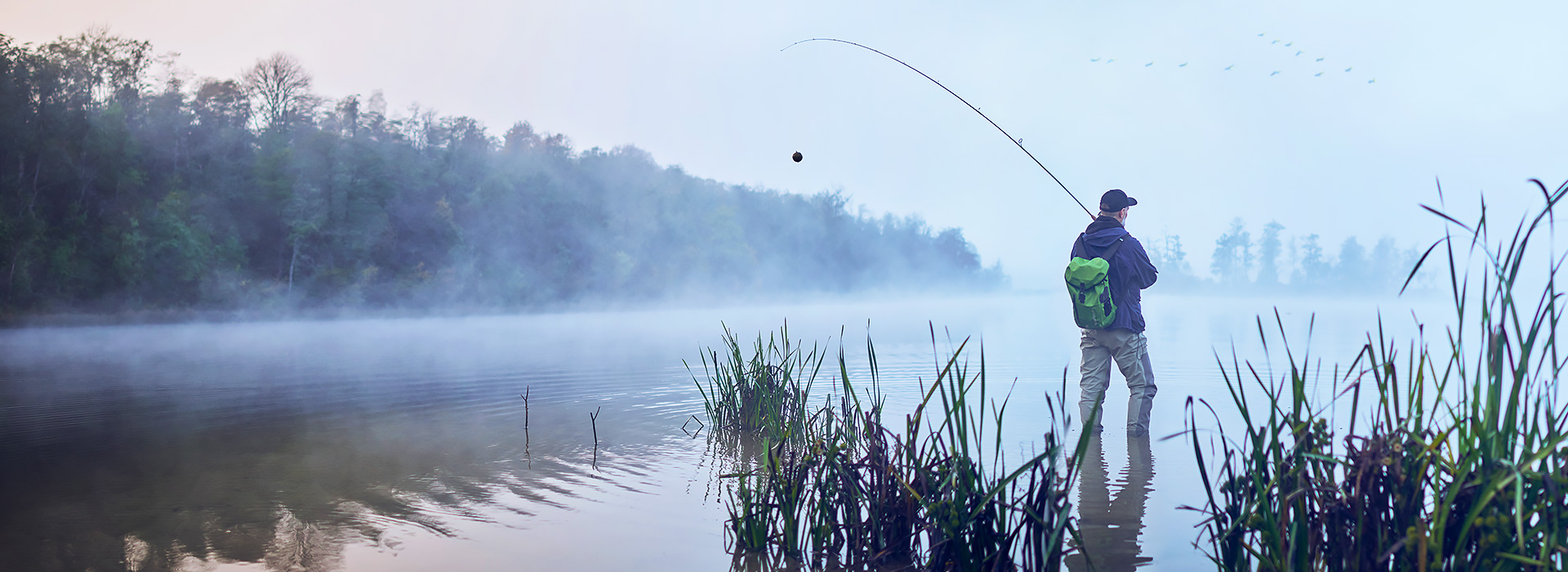 Подгответе се за предстоящия риболовен сезонЗапочнете да ловите риба интелигентно, като платите само 369,99 лв.!
