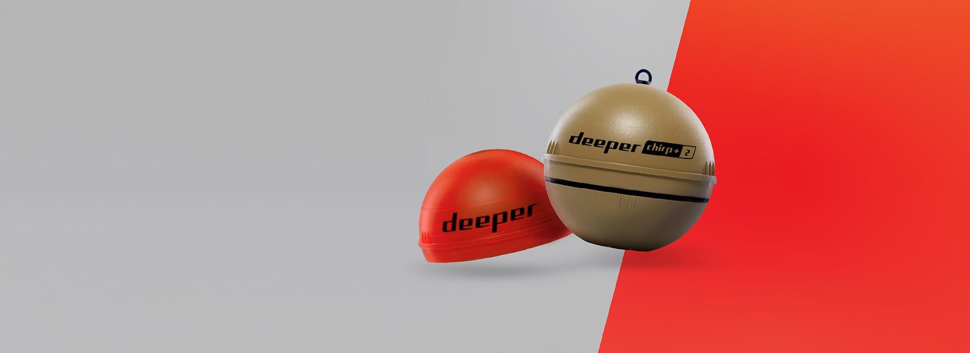 Maak kennis met de nieuweDeeper CHIRP+ 2! De krachtigste sonar die we ooit gemaakt hebben. Tot nu toe.