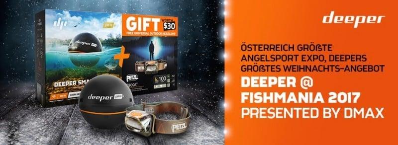 Deeper auf der Fishmania 2017 mit großem Weihnachts-Angebot