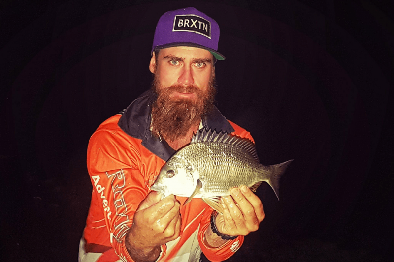 Night fishing for Moses Perch and Bream with the Deeper PRO+