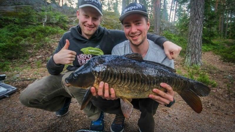 Karpinkalastus ja onkipaikan löytäminen