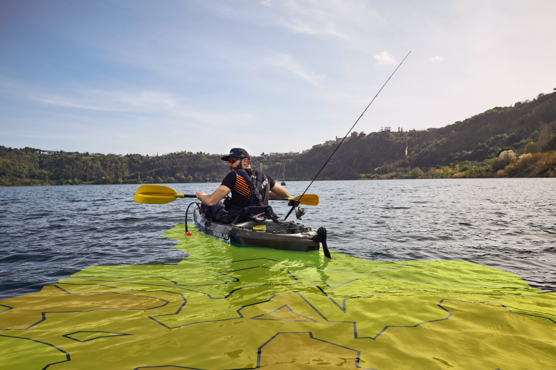 How to Find a Good Fishing Spot in Open Waters Using Bathymetry