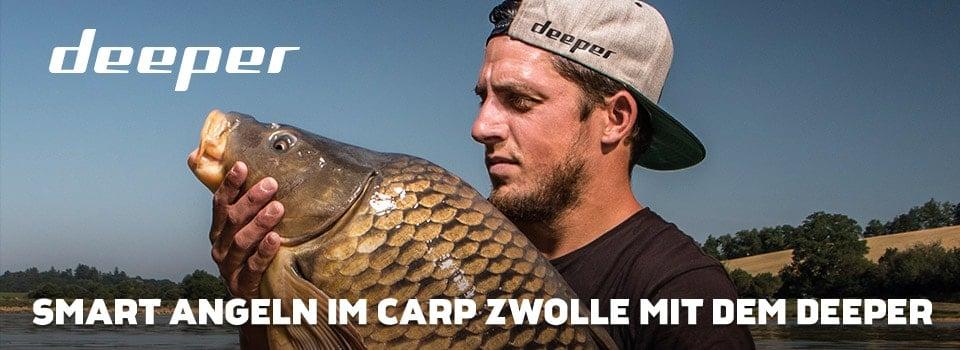 Smart Angeln im Carp Zwolle mit dem Deeper