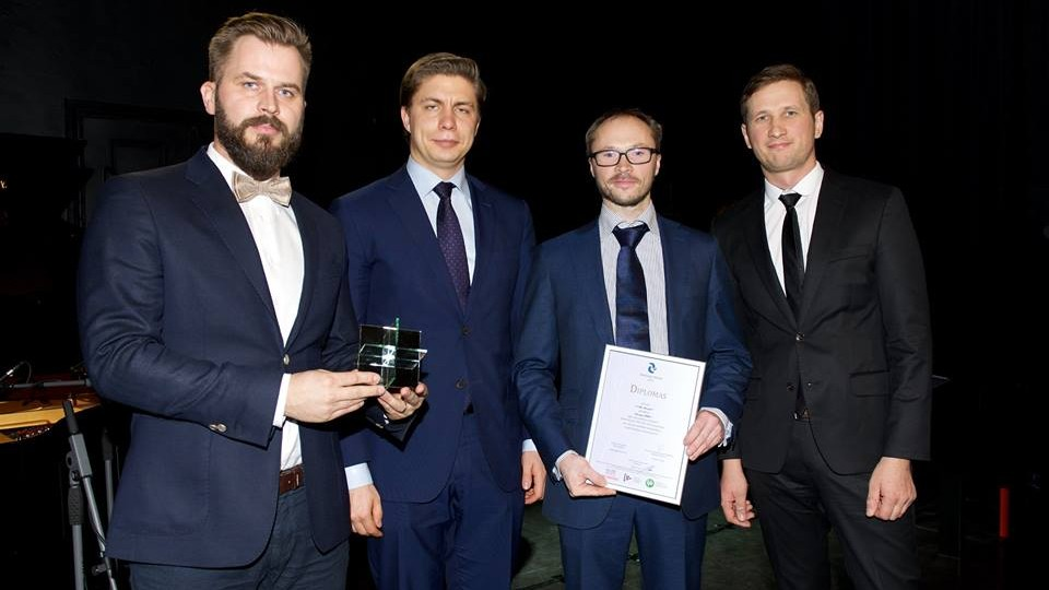 Lithuanian Confederation of Industrialists name Deeper PRO + Innovation of the Year