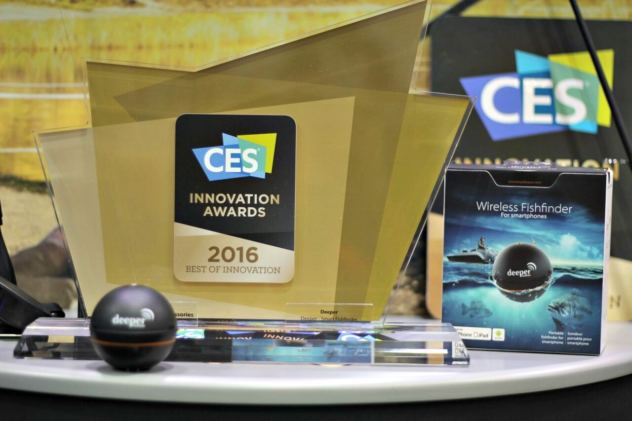 Deeper Grabs CES 2016 Innovation Award
