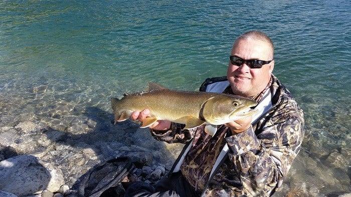 Gary holding the fish