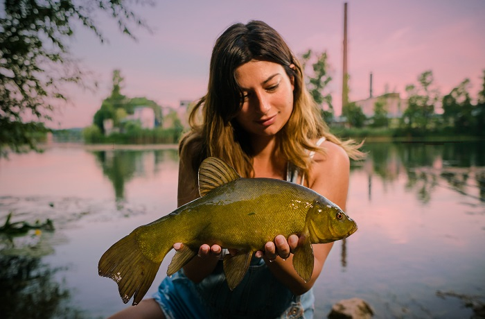 Vado a pesca per tanti motivi