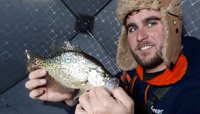 Jarrid with crappie