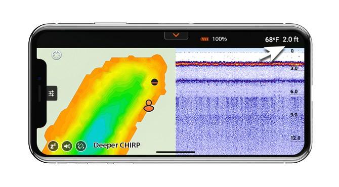 Уменьшенный шум и шум гидролокатора