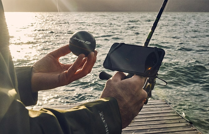 Fishing with deeper app