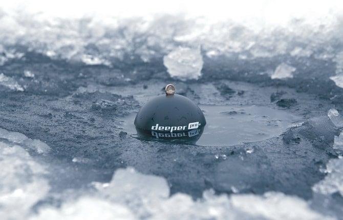 deeper in ice hole