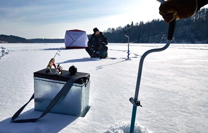 GPS-ishålsmarkör isfiske