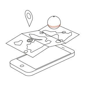 Deeper App Kartlegg