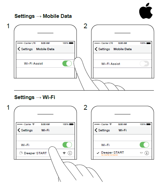 pairing with ios