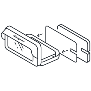 Dodaj panele izolacyjne pod smartfonem