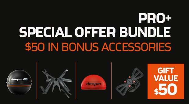 Deeper PRO+ Special Offer